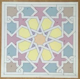 The original basic pattern layout